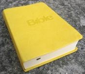 Bible21 - umělá kůže (žlutá)