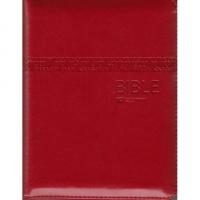 Bible ČEP s DT - malá, zip, červená