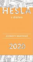 Hesla Jednoty bratrské 2020 (s diářem)