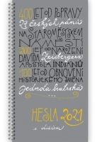 Hesla Jednoty bratrské 2021(s diářem)