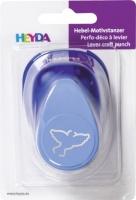 Děrovač modrý 22 mm - holubice obrysová