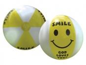 Smile, God loves you