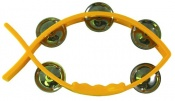Tambourine Yellow - Fish shaped