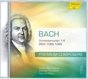 Orchestral Suites 1 - 4, BWV 1066 - 1069 (2CD)
