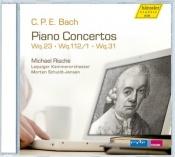 Piano Concertos Wq.23, Wq.112/1, Wq.31