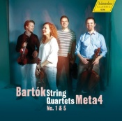 String Quartets No.1 & 5 (Meta4)