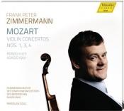 Violin Concertos Nos 1, 3, 4 (F. P. Zimmermann)
