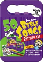 50 Bible Songs for Kids (CD+Activity Kit)