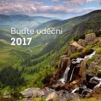 Nástěnný kalendář 2017 (malý - česká příroda)