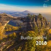 Nástěnný kalendář 2018 (malý - česká příroda)