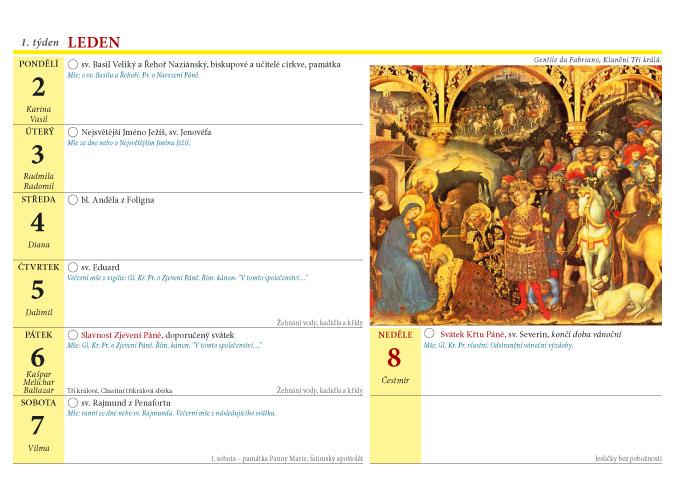 krestansky kalendar Křesťanský kalendář 2012 (s liturgickým i občanským kalendáriem  krestansky kalendar