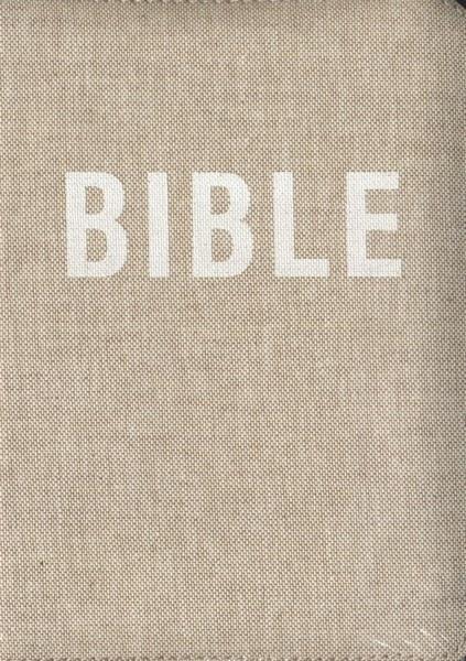 Bible na zip - přírodní (Český ekumenický překlad včetně DTK, dvousloupcová)