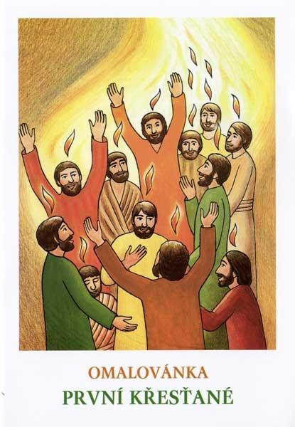 Omalovánky - První křesťané
