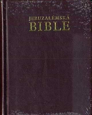Jeruzalémská Bible - malá se záložkami