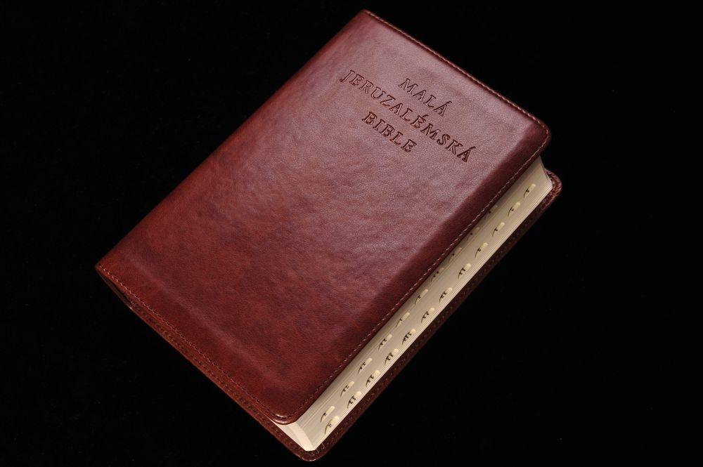 Malá Jeruzalémská Bible (se záložkami)