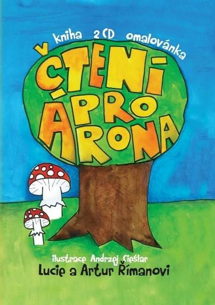 Čtení pro Árona (kniha+2CD+omalovánky)