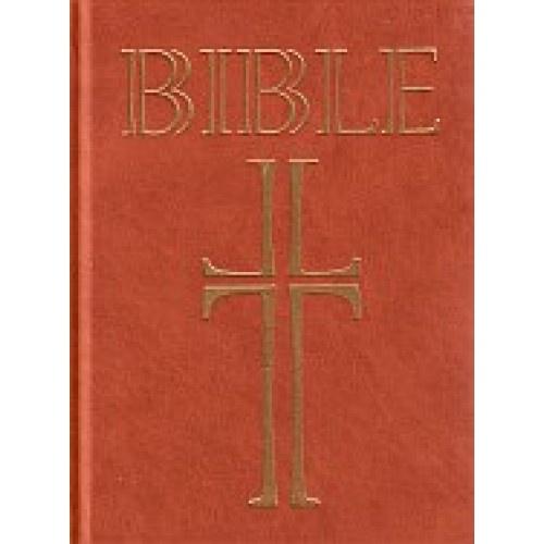 Bible: Český ekumenický překlad s DTK (dvousloupcová, světle hnědá)