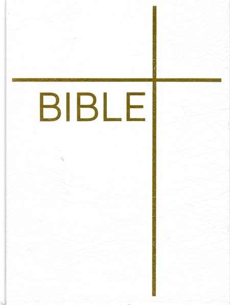 Bible: Český ekumenický překlad s DTK - bílá (dvousloupcová)