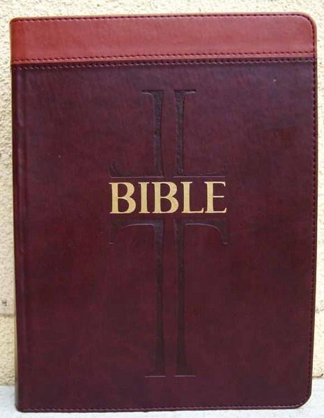 Bible: Český ekumenický překlad s DTK - velká, umělá kůže  (dvousloupcová)