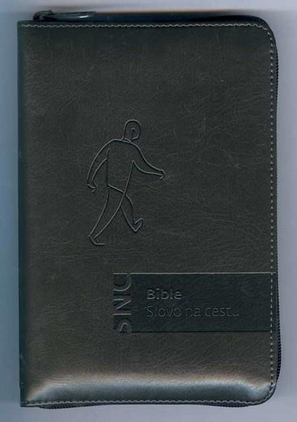 Bible - Slovo na cestu - šedá (zip)