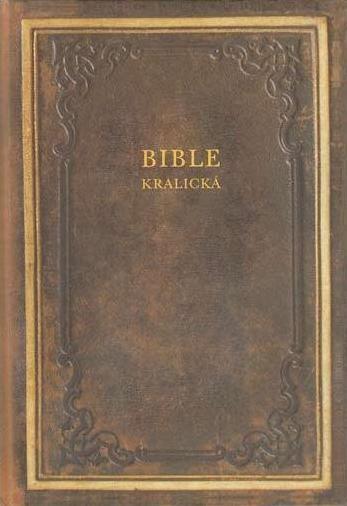 Bible kralická (pevná vazba)