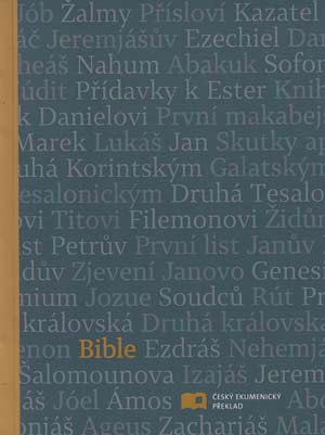 Bible: Český ekumenický překlad s DTK malá, měkká vazba, antracitová