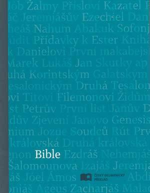 Bible: Český ekumenický překlad s DTK malá, měkká vazba, modrá