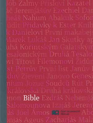 Bible: Český ekumenický překlad s DTK malá, měkká vazba, červená