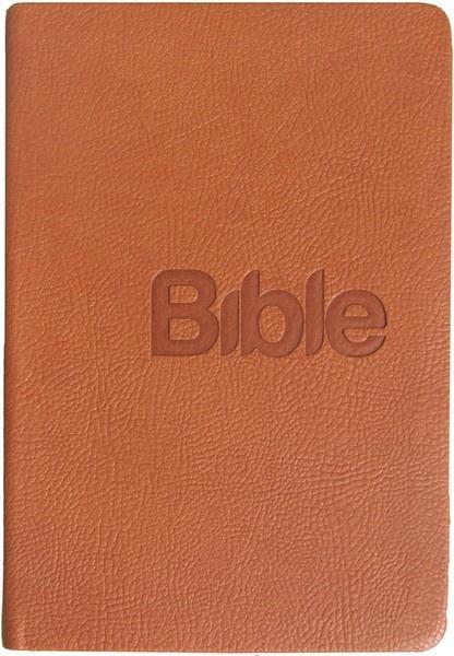 Bible21 - umělá kůže (hnědá)