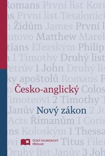 Nový zákon česko-anglický, ČEP-NIV (pevná vazby)