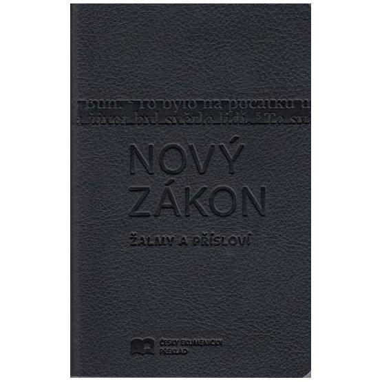 Nový zákon, Žalmy, Přísloví (Český ekumenický překlad - S, umělá kůže)