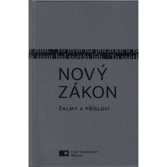Nový zákon, Žalmy, Přísloví (Český ekumenický překlad - S, vinyl šedá)