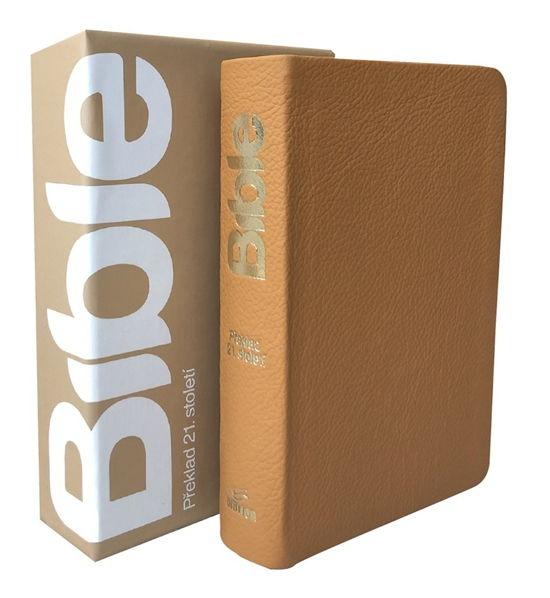 Bible 21 kapesní - Gold