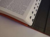 Bible, Český studijní překlad, s magnetickou klopu, oranžová