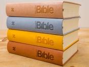 Bible 21 - umělá kůže hnědá (2018)