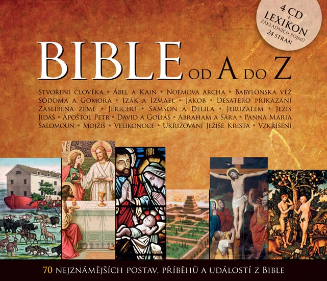 Bible od A do Z (4CD + lexikon)