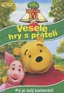 Velká kniha Medvídka Pú - Veselé hry s přáteli