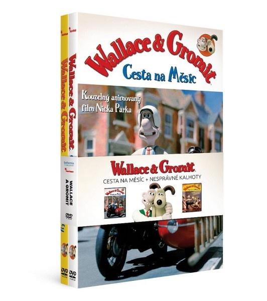 Wallace a Gromit - DVD kolekce (2DVD)