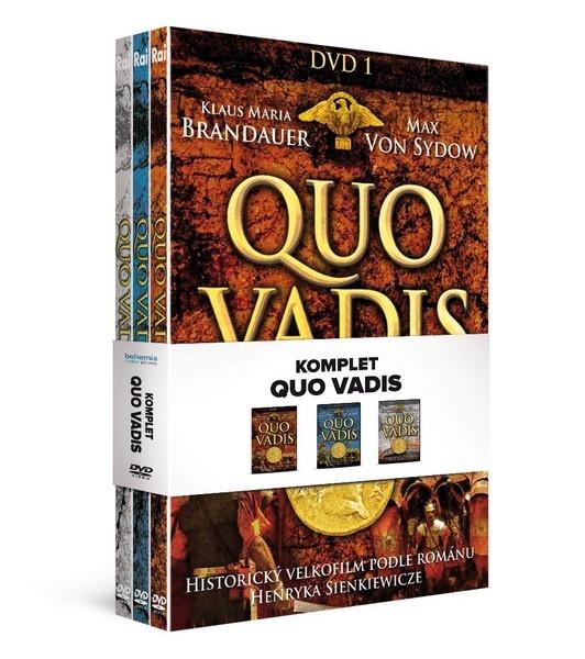 Quo vadis - DVD kolekce (3DVD)