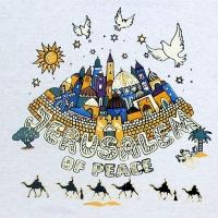 Jeruzalém, město pokoje (vel. M)