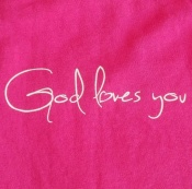 God loves you (vel.M)