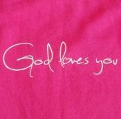 God loves you (vel.XL)