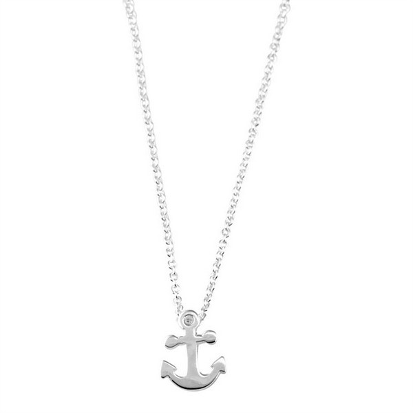 Mini anchor/cross (8x10 mm, řetízek 40 cm)