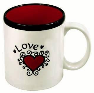 Mug 400 ml, Love