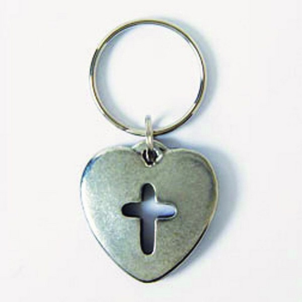 Heart With Cutout Cross