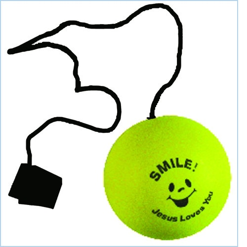 Stress Ball With Wrist String