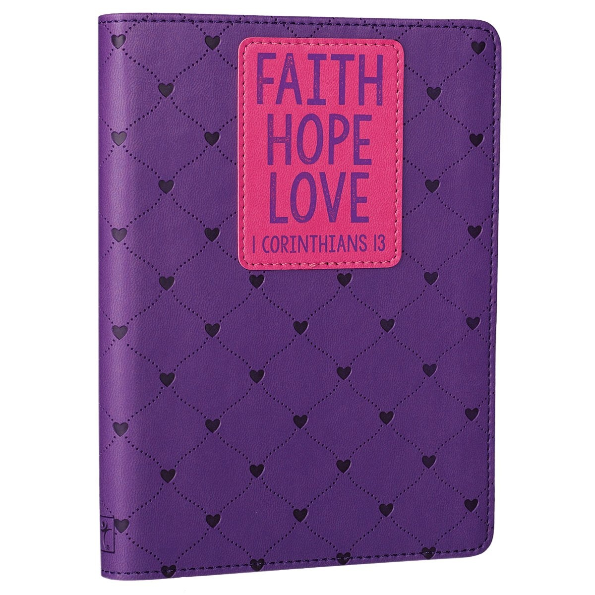 Faith Hope Love - Purple