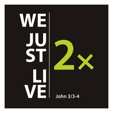 we just live 2x (žijeme jen 2x)