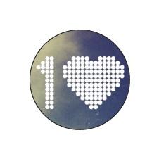 Jedním srdcem - modrá