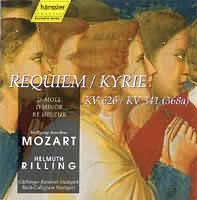 Requiem d-moll (KV 626) Kyrie d-moll (KV 341)